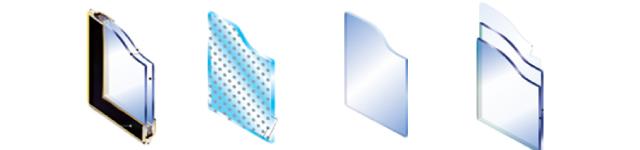 ガラスの種類イメージ