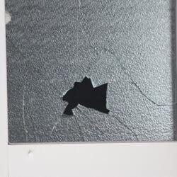 割れたガラスイメージ