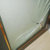 ガラストラブル保険修理画像